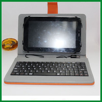 11.6 inch tablet pc leather keyboard case for android tablet pc/samsung