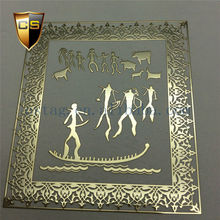 Acrylic medal special metal Stickers