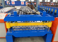Forward 1000 roofing sheet color steel roll forming manufacturer tile roll forming machine