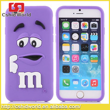 Hot Selling 6Plus 3D Soft Rubber Back Cover Mobile Phone Silicone 6plus Phone Case