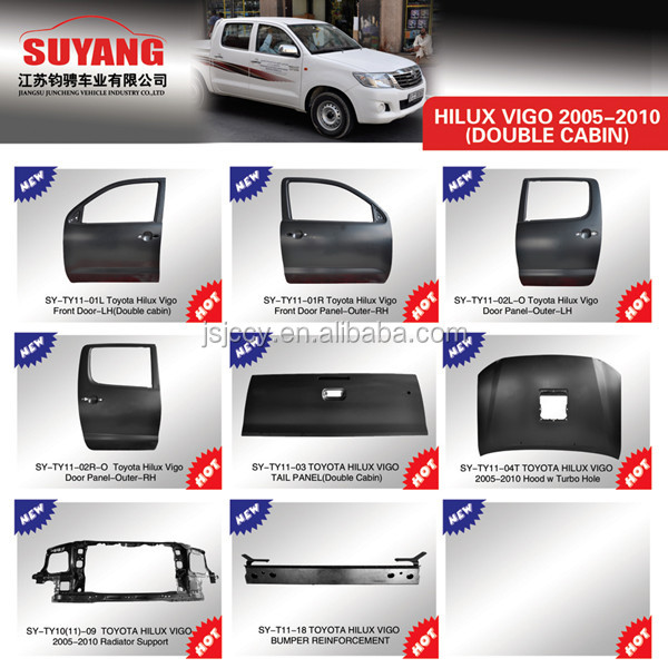 Buick T Type Parts - Body Panels Car Rear Panel For Toyota Hilux Vigo Oem#65700 ...