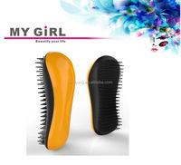 Every girl have My girl detangler brush wedding flower sparkling long flexible hair comb in 2015