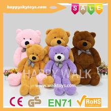 Happy kid toys!!!HI CE wonderful teddy bear for sale,various color custom plush toys,new design big teddy bear