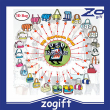 ZOGIFT 3d school bag,3d cat bag