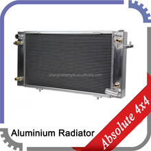 Custom aluminum car radiator for TOYOTA Landrover Discovery Series 1 / Range Rover 86 - 94 performance auto parts