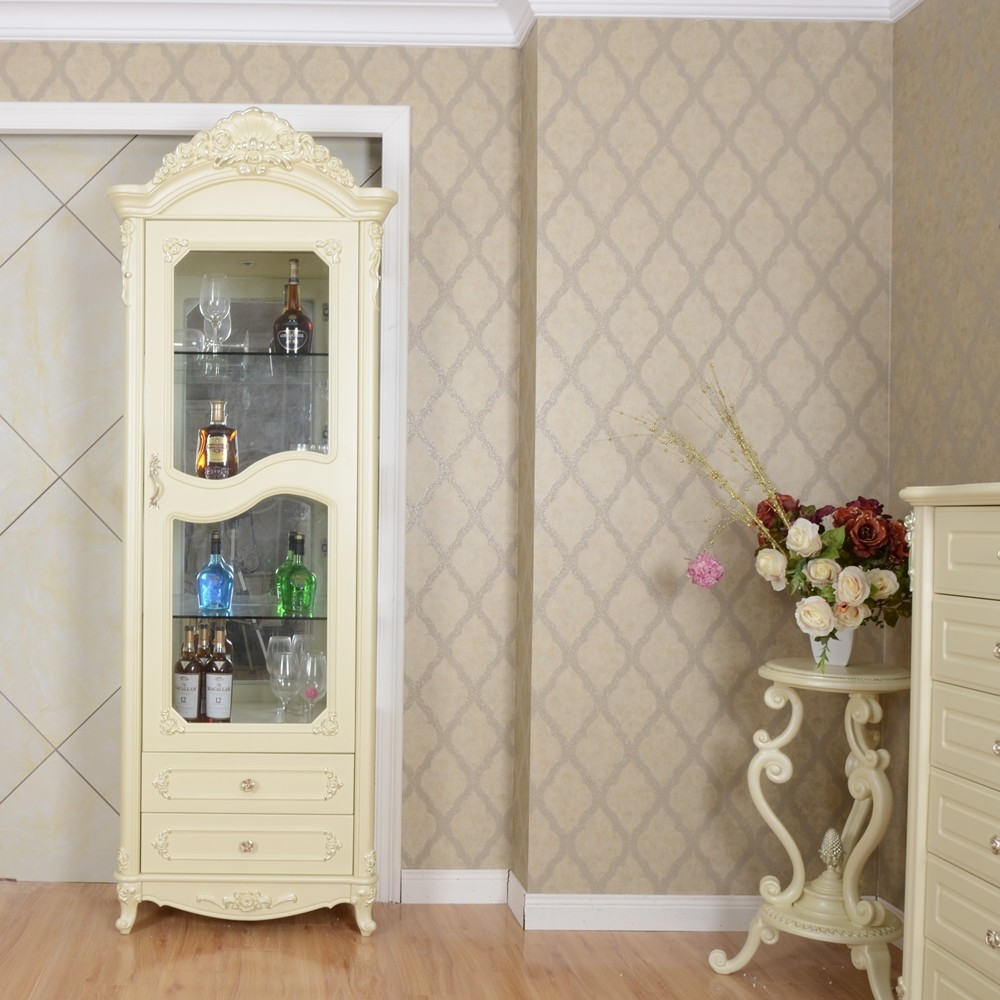 meubles orientaux de la laque shabby chic curio cabinet. Black Bedroom Furniture Sets. Home Design Ideas