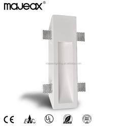 2015 hot sale Gypsum Plaster Wall Lamp Recessed light fixture