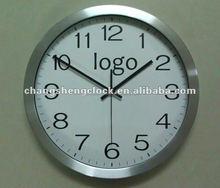 """14""""Aluminium promotion clock / metal wall clock/decor clock"""