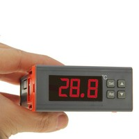 LCD Digital Temperature Controller Thermocouple Thermostat with Sensor