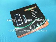 2012 Cheapest!!! solar mobile phone battery charger