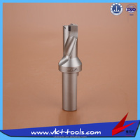 CNC High Speed 2D Indexable U Drill with SPMG or WCMX Inserts