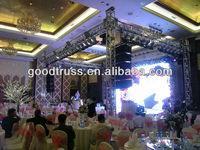 wedding stage lighting truss tower/pillar