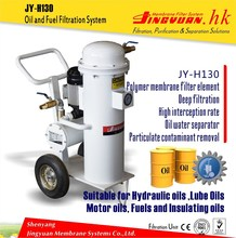 High Oil Yield continuous lube oil and engine oil purifier machinery