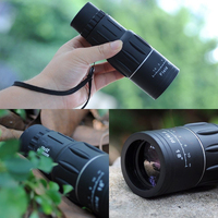 16x52mm Dual Focus Monocular Telescope with Green Fully Coated Optic Zoom Scopes