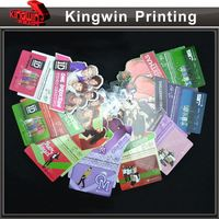 scratch top up card NO.1060 five telephone strip prepaid calling telephone card for mobile phone