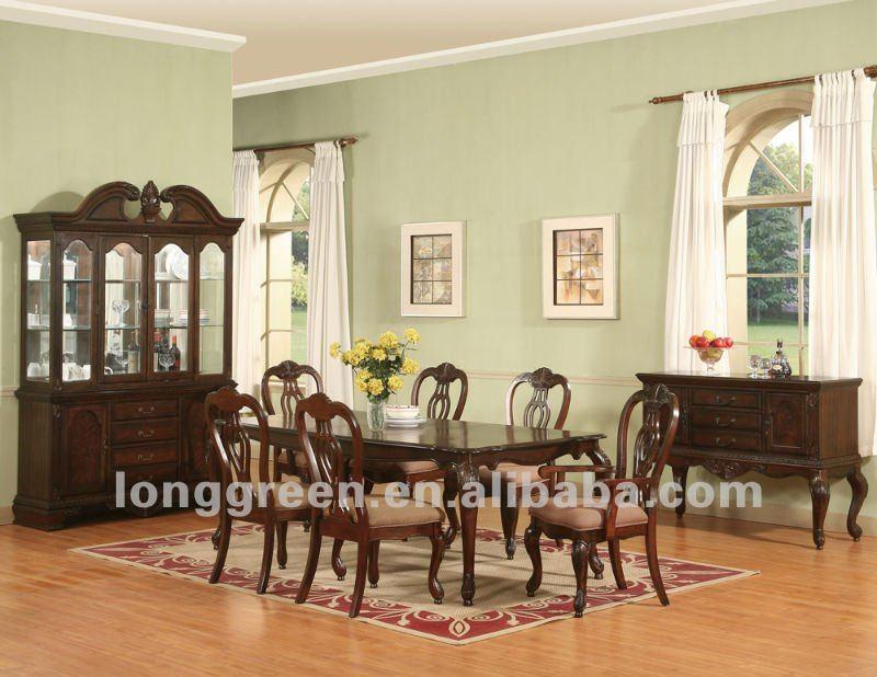 antique style long cerise bois salle manger tables table en bois id du produit 522755302. Black Bedroom Furniture Sets. Home Design Ideas
