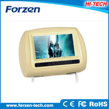 High quality 7 inch car headrest high resolution unique winca car dvd with FM factory low price