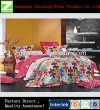 Good Quality Customized Printed Family Bedding Set