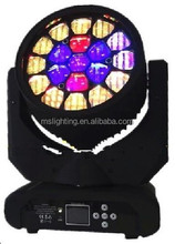 19*12W RGBW 4IN1 Multi-Color Bee-EYE K10 zoom LED Moving Head BEAM LED Moving Head Light