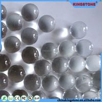 Brilliant quality japanese floating glass balls,led lighted open glass balls