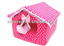 Wave Point Lace Pet House With The Top Room