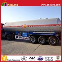 25-60M3 Propane Tanker Semi Trailer/2-4 Axles LPG Transportation Truck For Sale