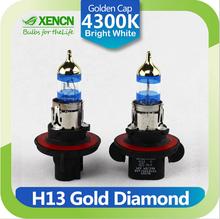 XENCN H13 12V 60/55W P26.4t 4300K Gold Diamond Car Headlight Halogen Bulb UV Filter Germany Quality Auto lamp