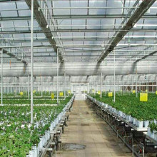 High Quality 100%Bayer transparent plastic roof hollow polycarbonate greenhouse sheet commercial hydroponics greenhouse with UV