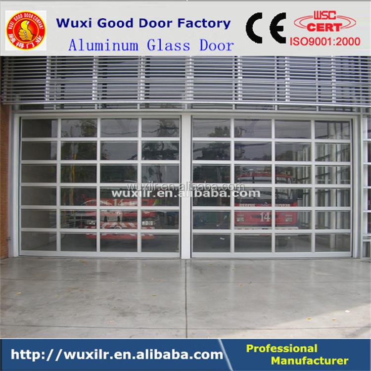 Sectional Glass Garage Door Of Deluxe Glass Sectional Garage Vertical Sliding Overhead