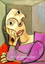 Pintada a mano de Pablo Picasso pinturas de la reproducción del arte de la lona pintura al óleo