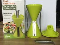 2015 Newest style multi blade vegetable slicer 4 balde spiral slicer