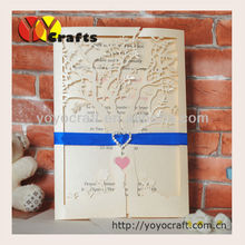 Inc25-- hot sale wedding favor wedding invitation letter providers
