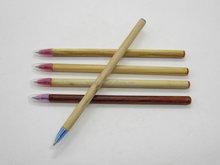 Natural wooden stick ball pen