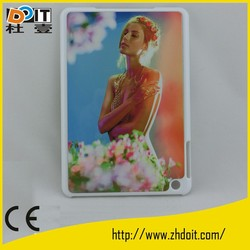 Innovative plastic hard shell cover for ipad mini pc case