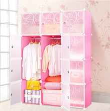 FH-AL0039-12 PP material plastic nilkamal wardrobe