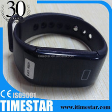 wristband calorie tracker calorie pedometer watch with wristband drink,medicine,sleep,sports,dinner reminder