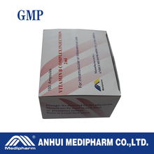 VITAMIN B COMPLEX INJECTION 2ml with GMP