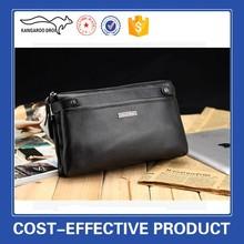 Factory supplygenuine cowhide leather wallet men handbags Leather business bag handbag caught larger volume wallet