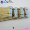 2015 Long Lasting Soft Blue Hair Extension Tape