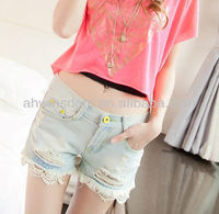 NEWEST LEISURE FASHION WOMEN HOT SHORTS