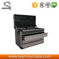 Beautiful Aluminum Tool Box with Drawers
