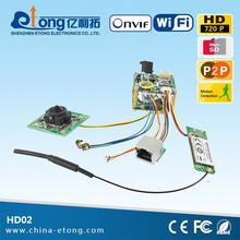 Home security oem ip camera module, spi camera module, wireless camera module auto focus(HD-02)