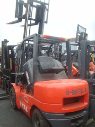 Used Forklift 3 Ton Heli forklift of china With Good Running Condition