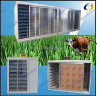 500kg/day Simple operation hydroponics soilless culture system for sprouting animal green barley fodder
