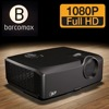 barcomax native 1920*1080p 3D DLP outdoor advertising 5000 lumens projector
