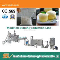 automatic modified starches flours and processing line