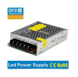 24v 2.5a led power supply with long life