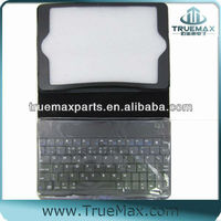 for iPad Leather Stand Case with Bluetooth Keyboard, 3.0 Bluetooth