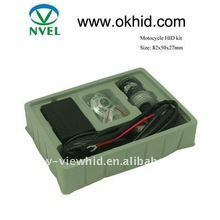 moto HID kit with integrative xenon ballast and H6 xenon lamp certified by CE FCC ISO