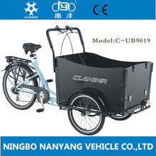 family bakfiets cargo tricycle / adult pedal car / dutch bike / UB9019-N3S